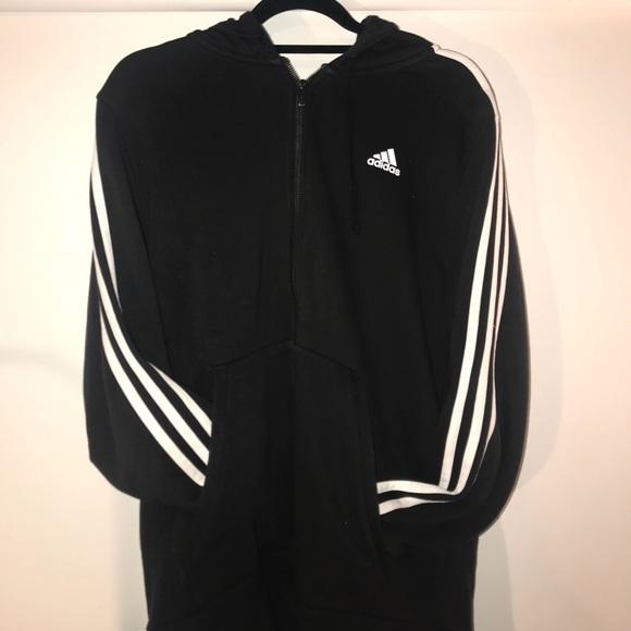 adidas hoodie with zip